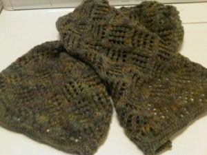 green-scarf